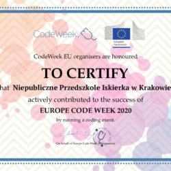 CodeWeek_certyfikat