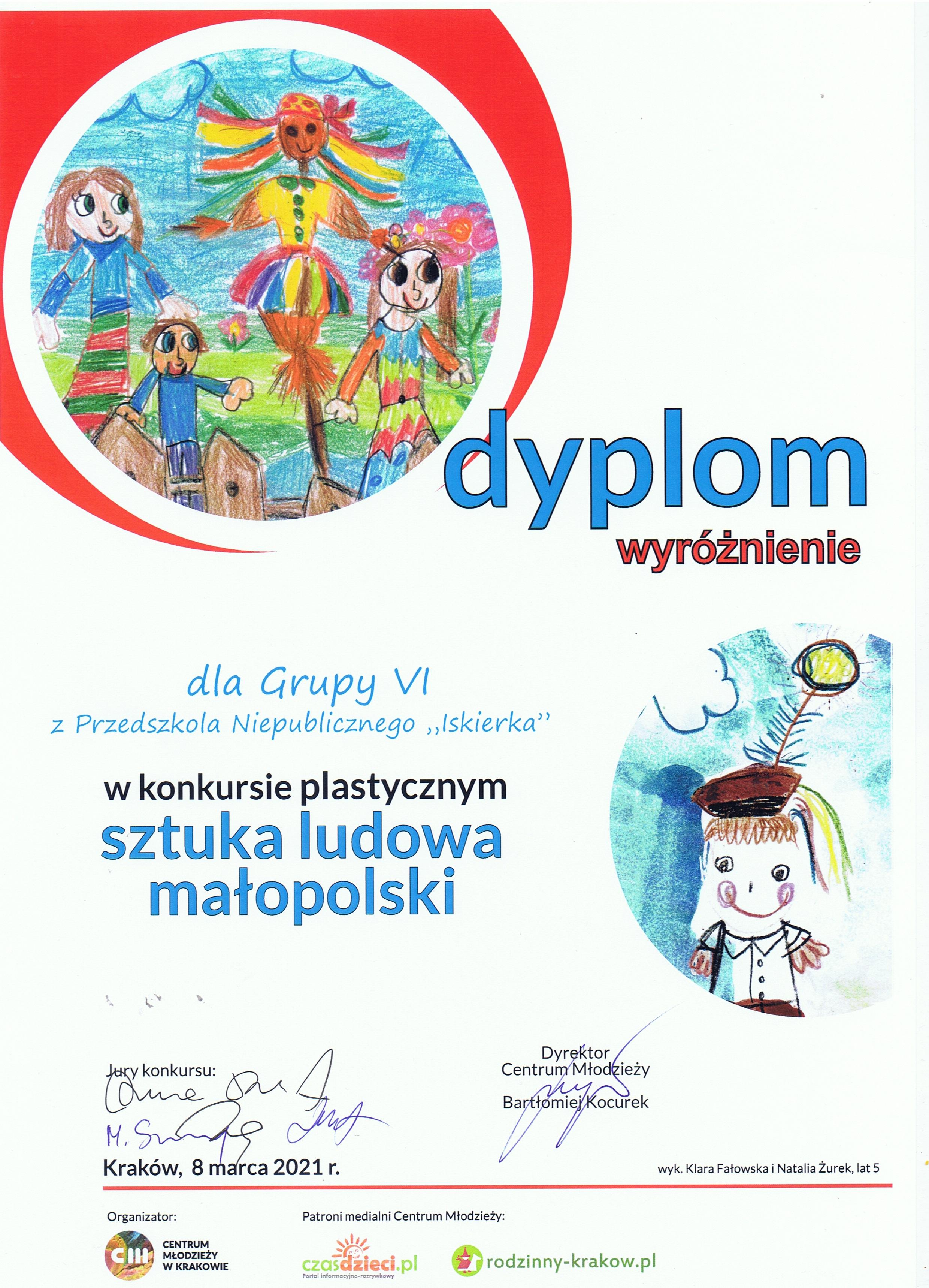 Konkurs sztuka ludowa Małopolski