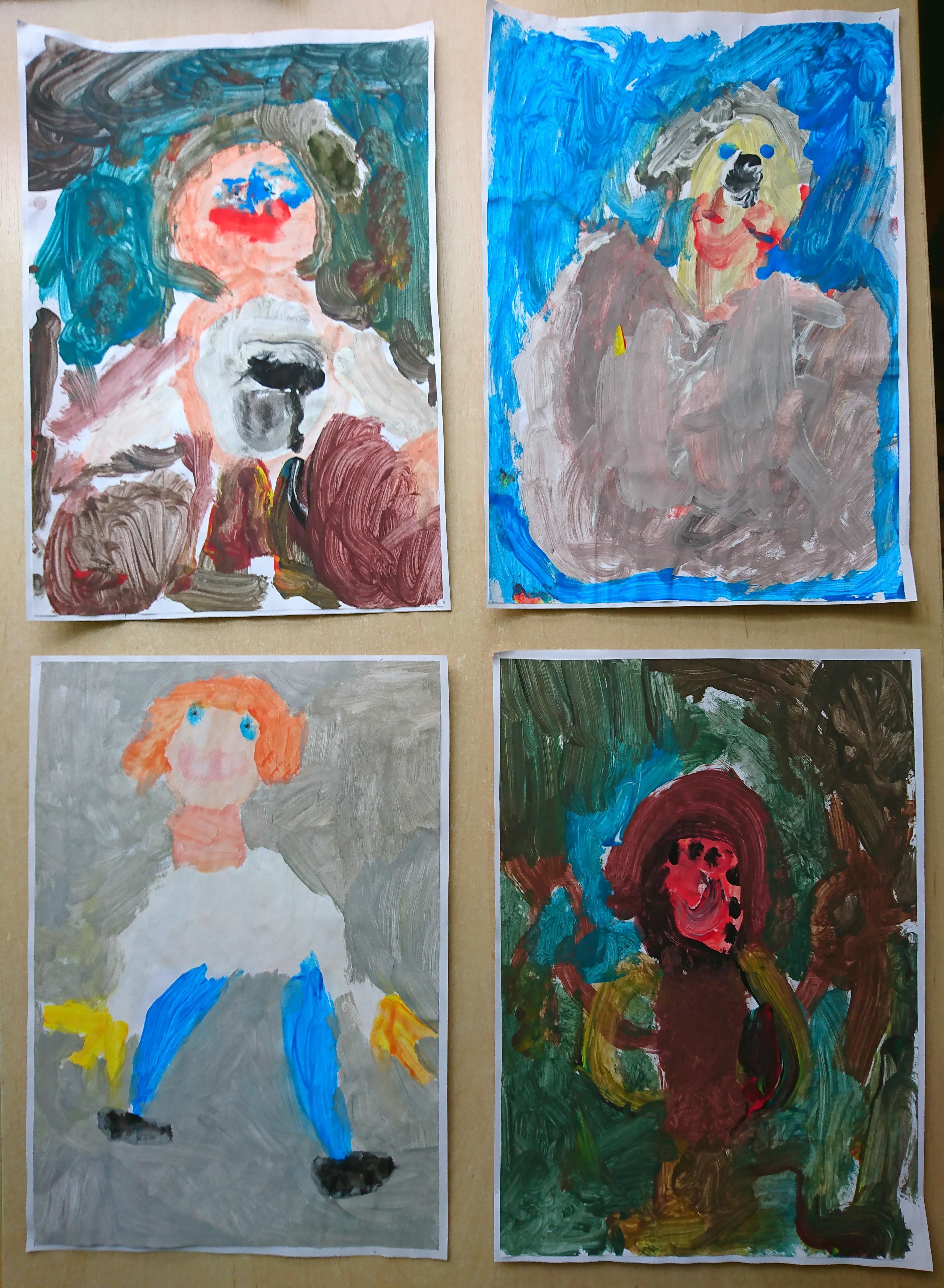 Warsztaty plastyczne: portret